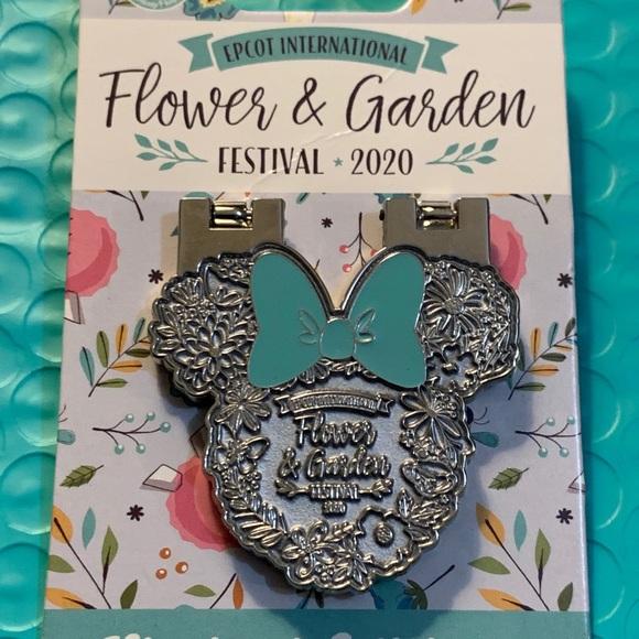 Epcot international flower and garden pin